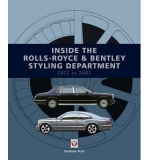 Inside the Rolls-Royce & Bentley Styling Department 1971 to 2001 (Paperback)