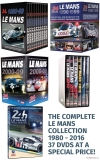 DVD: Le Mans Collection 1980-2016 (37 DVD)