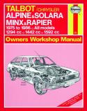 Talbot Alpine, Solara, Minx and Rapier (75-86)