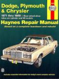 Dodge/ Plymouth/ Chrysler RWD (71-89)