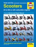 Scooters 50 to 250 cc - Twist and Go (automatic transmission)