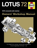 Lotus 72 Owners Manual (Hardback)