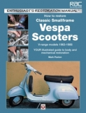 How to Restore Classic Smallframe Vespa Scooters - 2-stroke models 1963 -1986