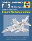 General Dynamics F-16 Fighting Falcon Manual 1978 onwards (all marks)