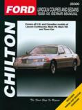 Lincoln Coupes & Sedans (88-00)