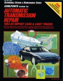 Automatic Transmission Repair 1984-1989 Imported Cars and Light Trucks