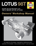 Lotus 98T Owners Manual 1983-1986