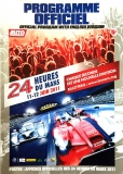 24 Heures du Mans 2011: Programme Officiel / Official Program