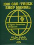 1981 Ford Car/Truck Shop Manual Engine/Emission Diagnosis