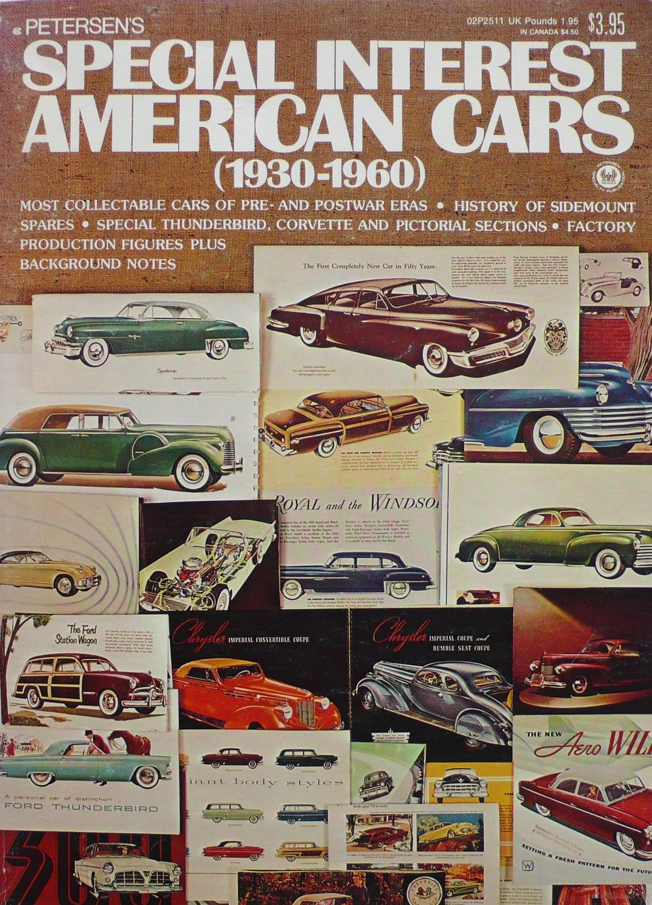 Petersen's Special Interest American cars 1930-1960
