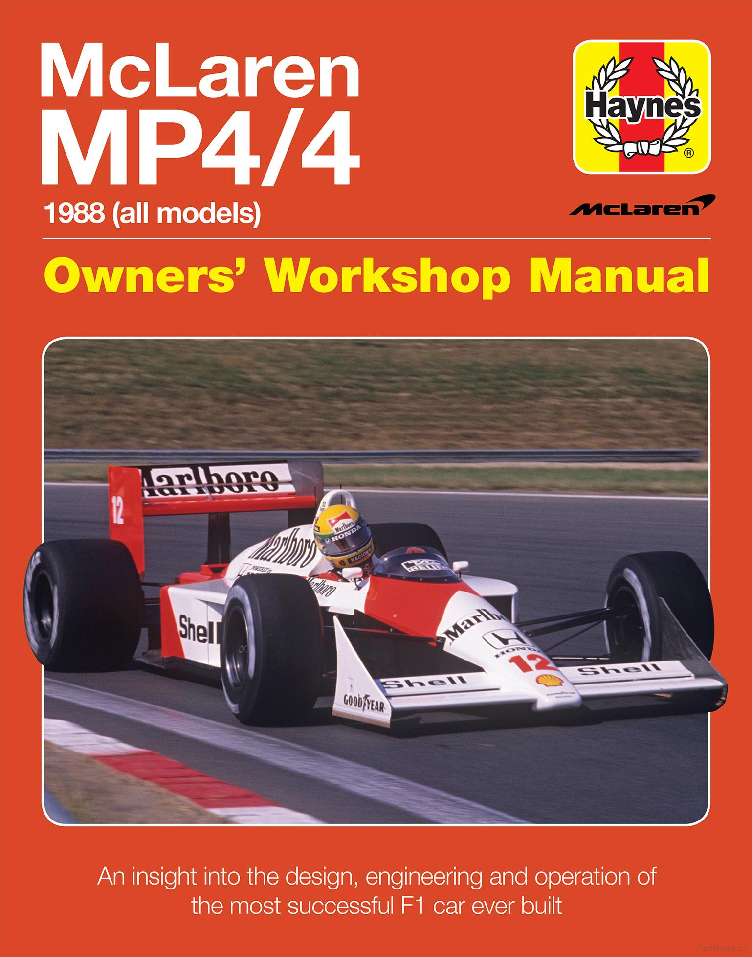 McLaren MP4/4 Manual (1988 all models)