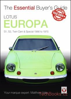 Lotus Europa: S1, S2, Twin-cam & Special 1966 to 1975