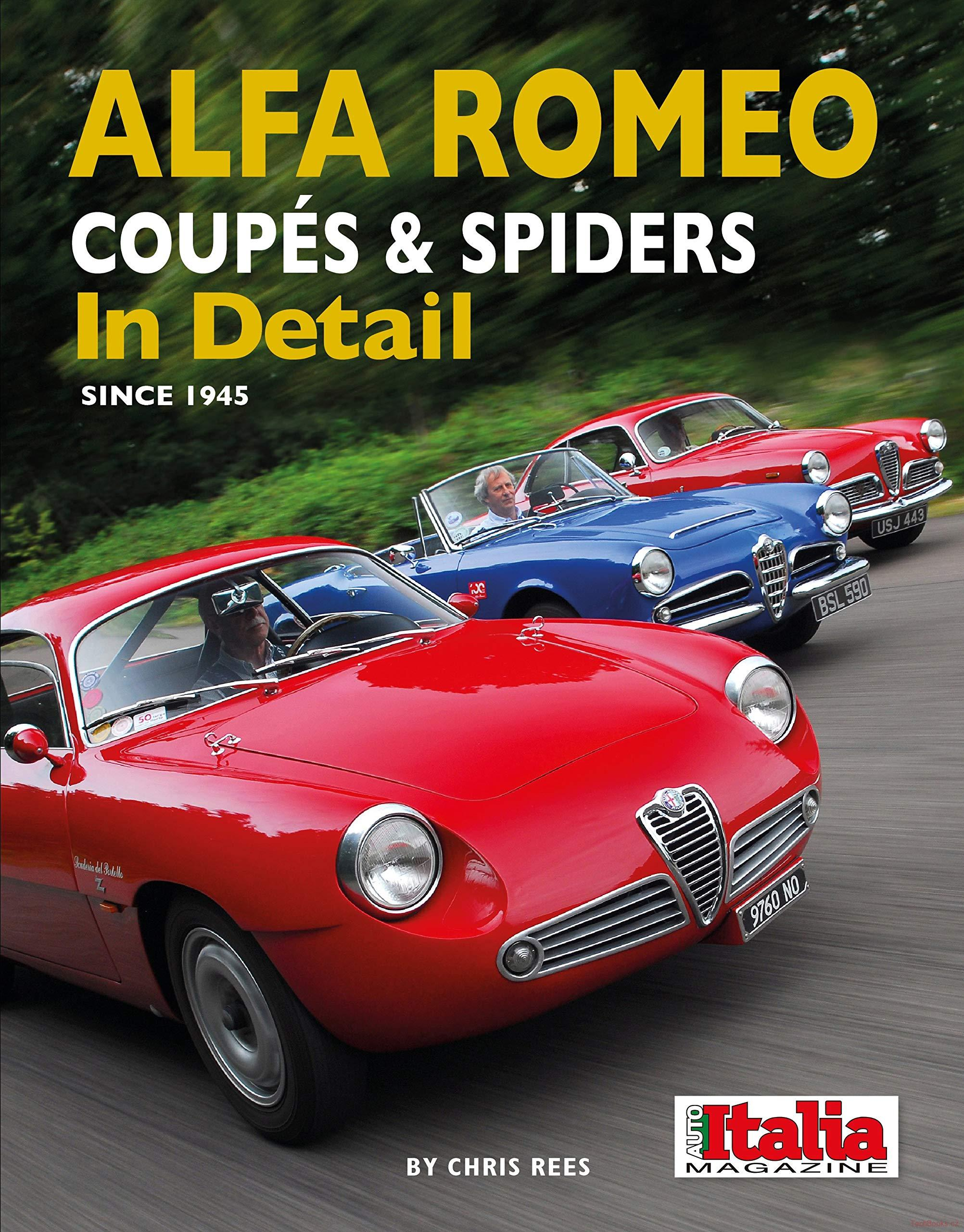 Alfa Romeo Coupés & Spiders In Detail