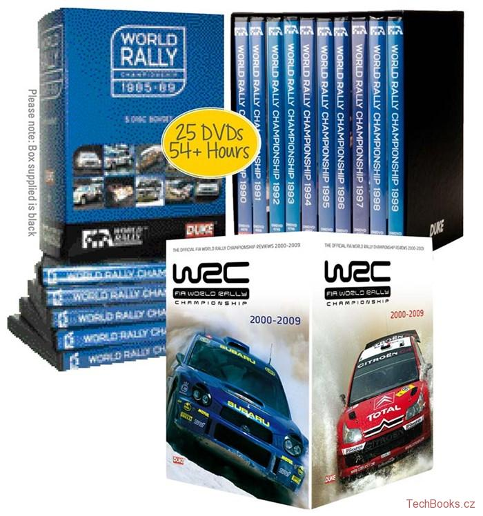 DVD: WRC Collection 1985-2009 (25 DVD)