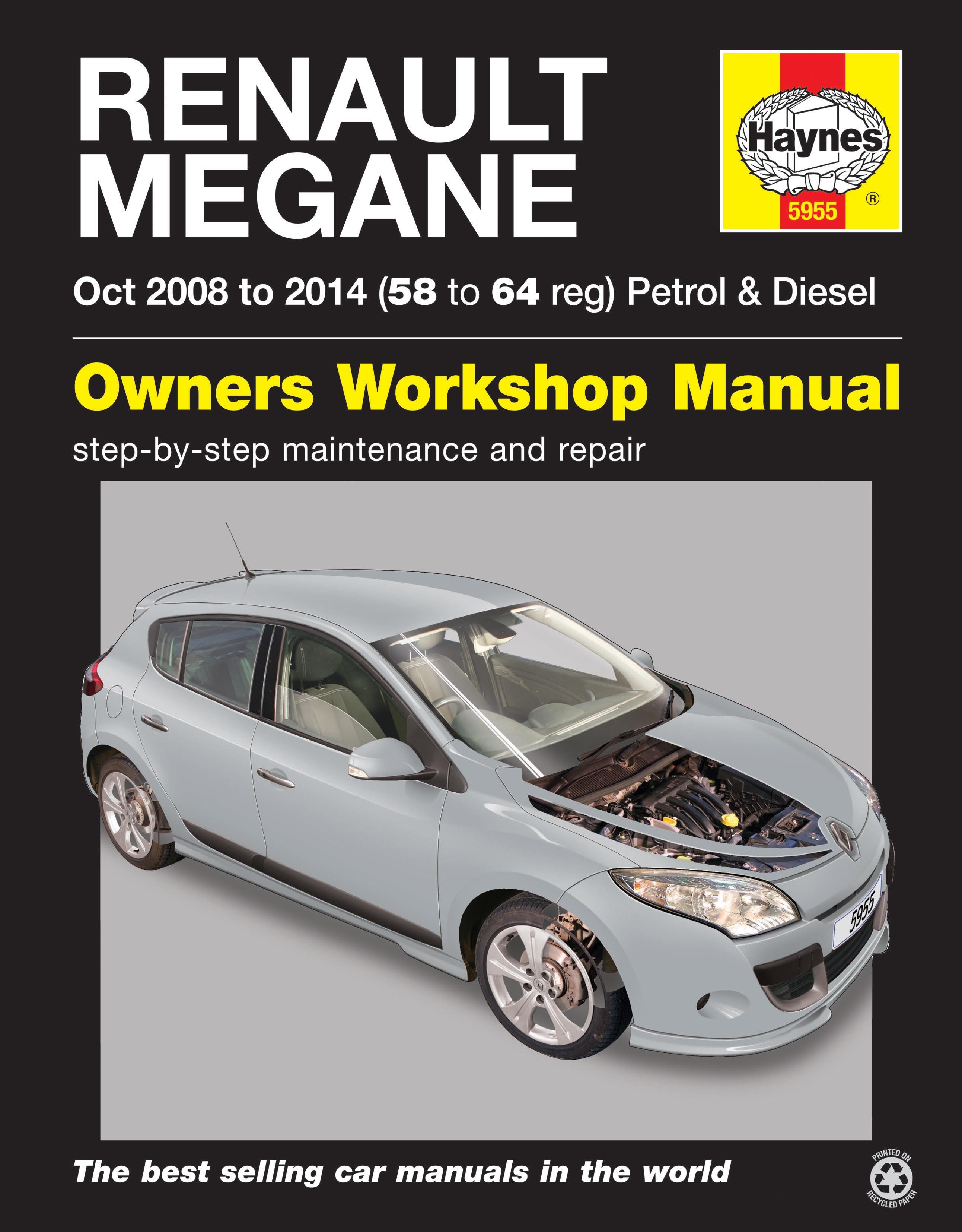 Renault Megane Iii 08 14 Techbooks Cz