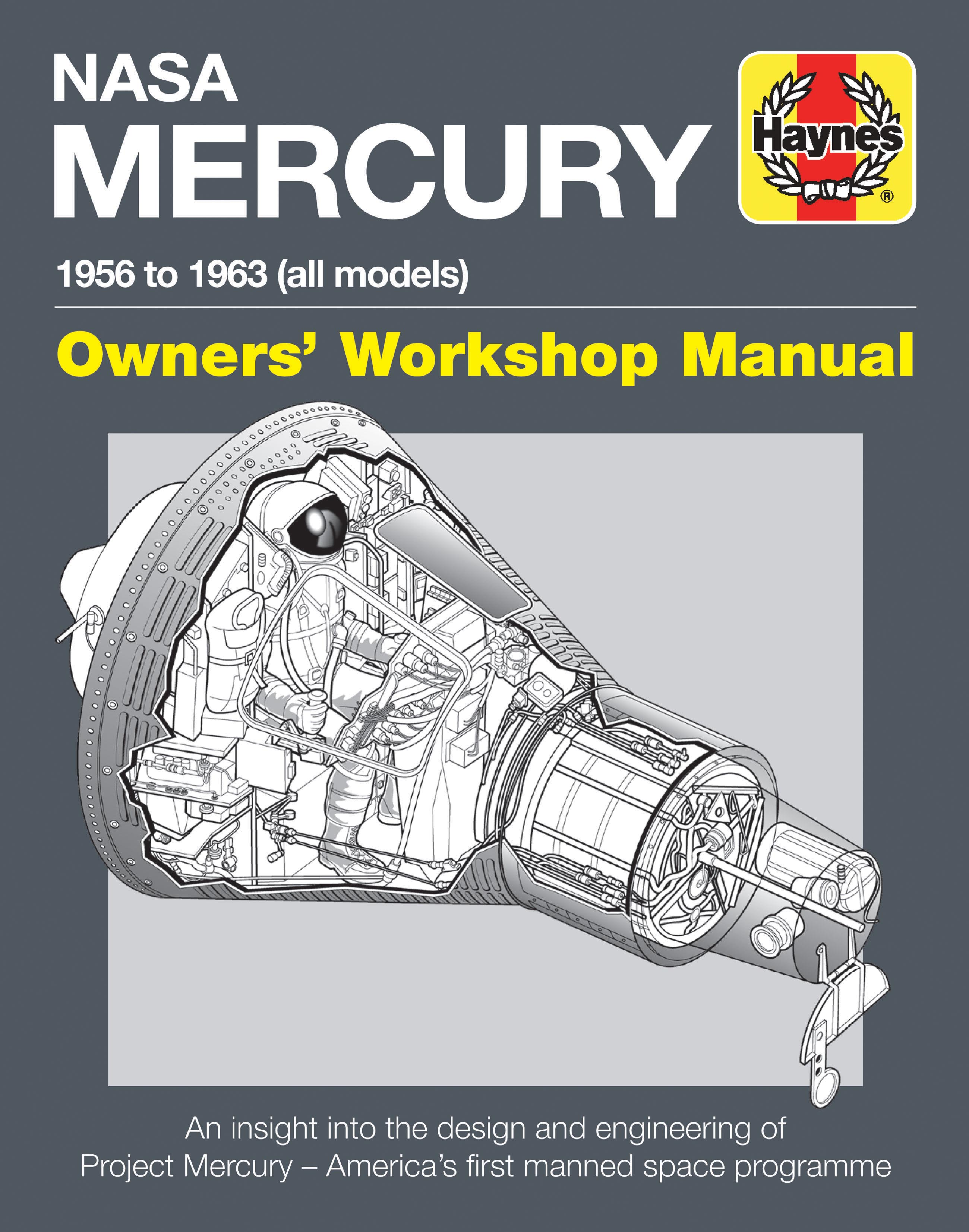 NASA Mercury Owners' Workshop Manual - 1958 to 1963 (all models)