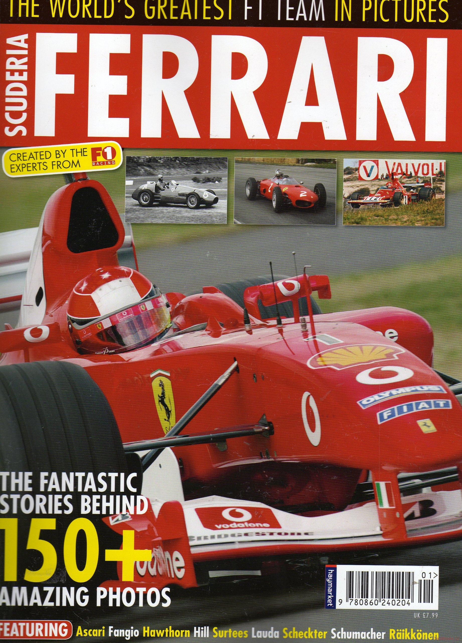 Scuderia Ferrari: The World's Greatest F1 Team in Pictures