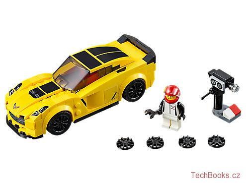 Chevrolet Corvette Z06 LEGO SPEED Champions 75870 STAVEBNICE ... 2e014689d9