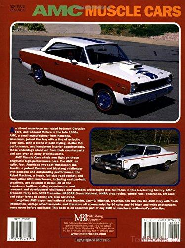 AMC Muscle Cars Muscle Car Color History Larry Mitchell