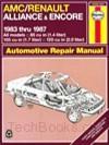 AMC/Renault Alliance/Encore (83-87)