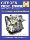 Citroen 1,7/1,9 Diesel Engine (84-96)