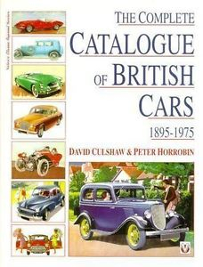 Complete Catalogue of British Cars, 1895-1975 (SLEVA)