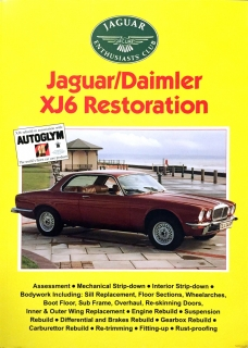 Jaguar / Daimler XJ6 Restoration (Jaguar Enthusiast Club)