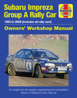 Subaru Impreza Group A Rally 1993 to 2008 (all rally cars)