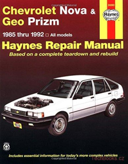 service manual [1997 geo prizm owners manual] automobily