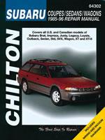 Subaru Coupes/Sedans/Wagons (85-96)