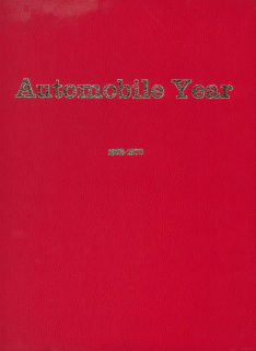 1972-1973 - Automobile Year Number 20