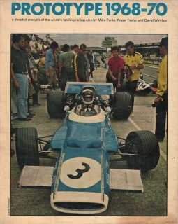 Prototype 1968-70 - A Detailed Analysis of the World's Leading Racing Cars