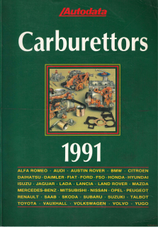 Autodata - Carburettors (Cars from 1975 to 1991)