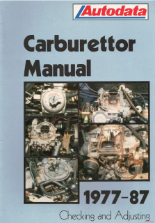 Autodata - Carburettors (Cars from 1977 to 1987)