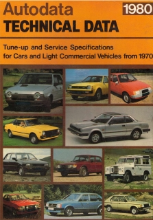 Autodata - Technical data (Cars from 1970 to 1980)