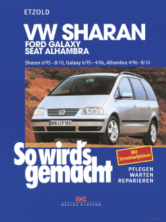 VW Sharan/ Ford Galaxy/ Seat Alhambra (95-10)
