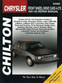 Chrysler Front Wheel Drive Cars (4-cyl.) (81-95)