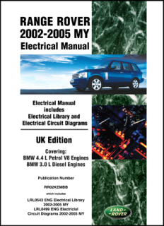 Range Rover (02-05) Electrical Manual