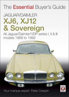 Jaguar XJ6, XJ12 & Sovereign - All Jaguars/Daimler/VDP Series 1,2,3 1968-1992