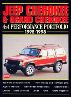 Jeep Cherokee & Grand Cherokee 4X4 Performance Portfolio 1992-1998