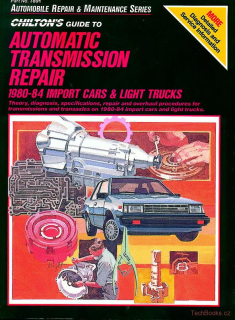 Automatic Transmission Repair 1980-1984 Imported Cars and Light Trucks
