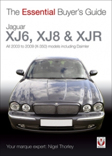 Jaguar XJ6, XJ8 & XJR All 2003 to 2009 (X-350) models including Daimler