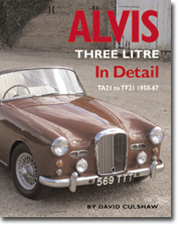 Alvis Three Litre In Detail TA21 to TF21 1950-67