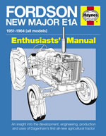 Fordson New Major E1A Manual (Hardback)