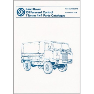 Land Rover 101 Forward Control 1 Tonne 4X4 Parts Catalogue