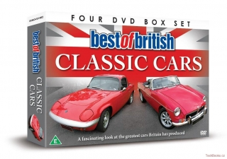 DVD: Best of British Classic Cars (4-disc Box set)