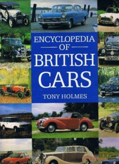 Encyclopedia of British Cars