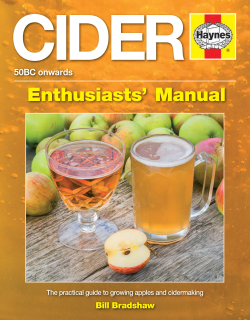 Cider Manual - Practical guide to growing apples and cidermaking