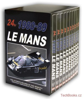 DVD: Le Mans Collection 1980-1989 (10 DVD)