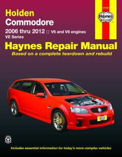 Holden Commodore (06-12)